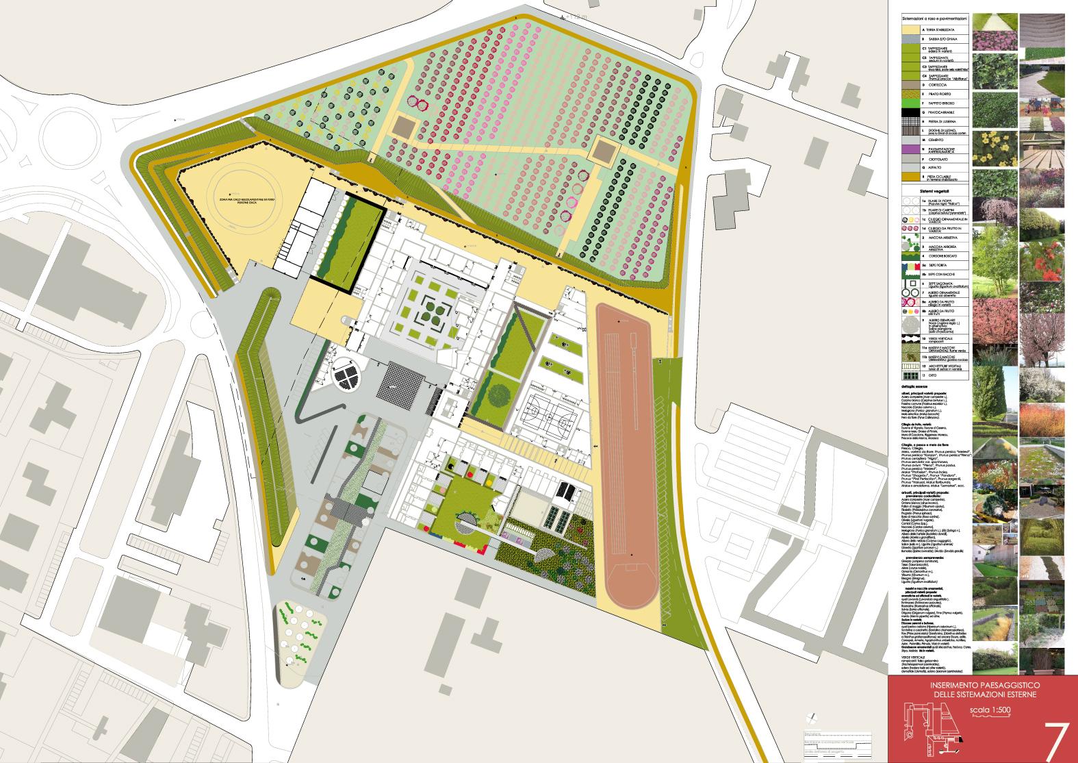 Nuovo complesso scolastico di vignola 2008 riccarda for Architettura del verde